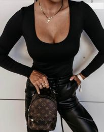 Блуза - код 11755 - црна