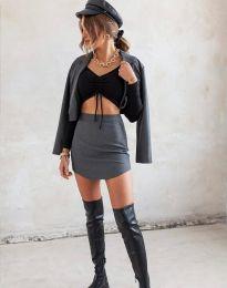 Блуза - код 11632 - црна