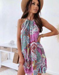 Фустан - код 3859 - цветна
