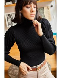 Блуза - код 0737 - црна