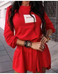 Фустан - код 0789 - 2 - црвена