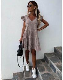 Фустан - код 211 - кремова
