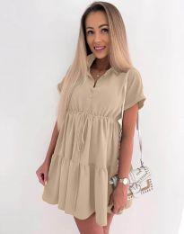 Фустан - код 8889 - кремова