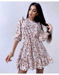 Фустан - код 5910 - 3 - шарена