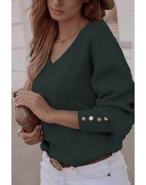 Блуза - код 812 - путер зелена