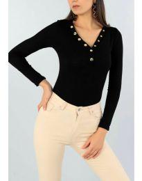 Блуза - код 2061 - 1 - црна