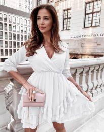 Фустан - код 0545 - бело