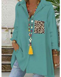 Блуза - код 5641 - ментол