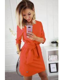 Фустан - код 594 - портокалова