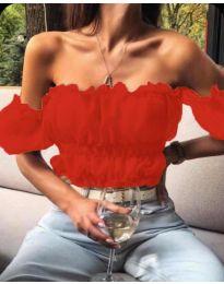 Блуза - код 060 - црвена