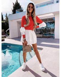 Фустан - код 5024 - 8 - црвена