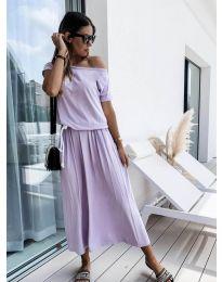 Фустан - код 4151 - светло виолетова