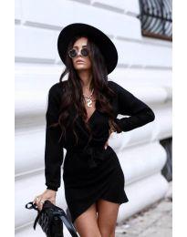 Фустан - код 395 - црна