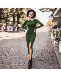Фустан - код 4177 - зелена