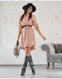 Фустан - код 9601 - пудра