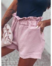 Кратки панталони - код 4747 - розова