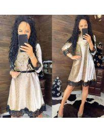 Фустан - код 1426 - светло сива