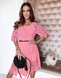 Фустан - код 6979 - розова