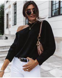 Блуза - код 5618 - црна