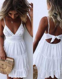 Фустан - код 7115 - 1 - бело