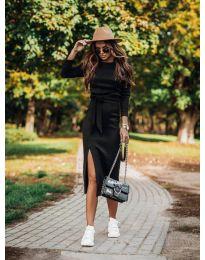 Фустан - код 9010 - црна