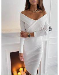 Фустан - код 6130 - бело