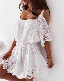 Фустан - код 6954 - бело