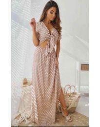 Фустан - код 735 - розова