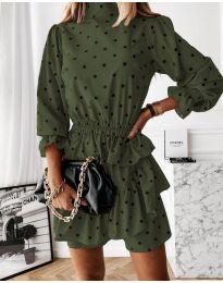 Фустан - код 3665 - путер зелена