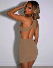 Фустан - код 11965 - кремова