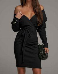 Фустан - код 4765 - црна