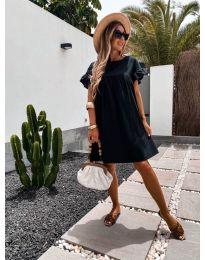 Фустан - код 744 - црна