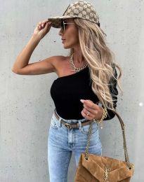 Блуза - код 4830 - црна