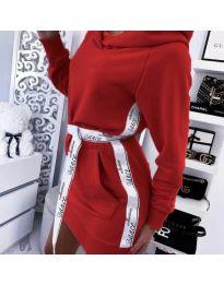 Фустан - код 4483 - црвена