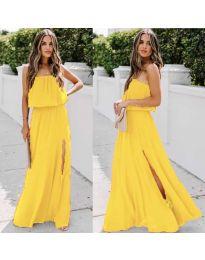 Фустан - код 061 - жолта