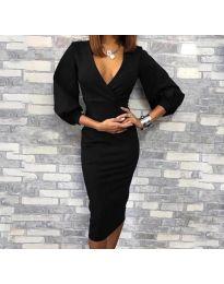 Фустан - код 8706 - 1 - црна
