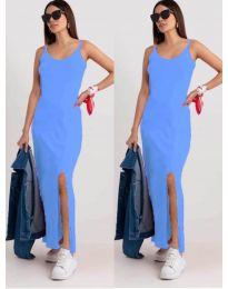 Фустан - код 3000 - светло сина
