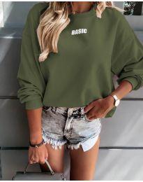 Блуза - код 5154 - путер зелена