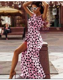 Фустан - код 0726 - розова