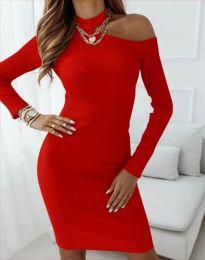 Фустан - код 4859 - црвена