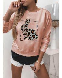 Блуза - код 4001 - розова