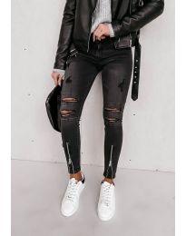 Фармерки - код 4232 - 1 - црна