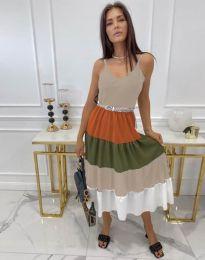 Фустан - код 3392 - шарена