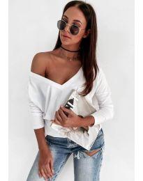 Блуза - код 3478 - бела