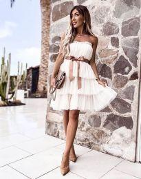 Фустан - код 3065 - бело
