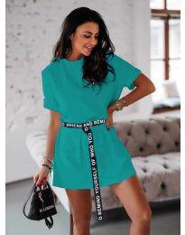 Фустан - код 809 - тиркизна