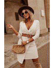 Фустан - код 9977 - бело