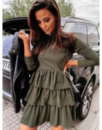 Фустан - код 3109 - путер зелена