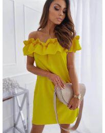 Фустан - код 133 - жолта