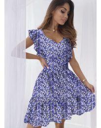 Фустан - код 6088 - виолетова
